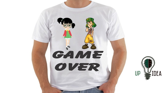 camiseta game over Chaves