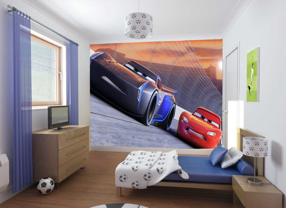 Painel adesivo Carros 3