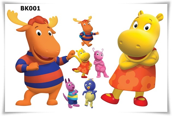 Kit Display Festa Infantil Backyardigans