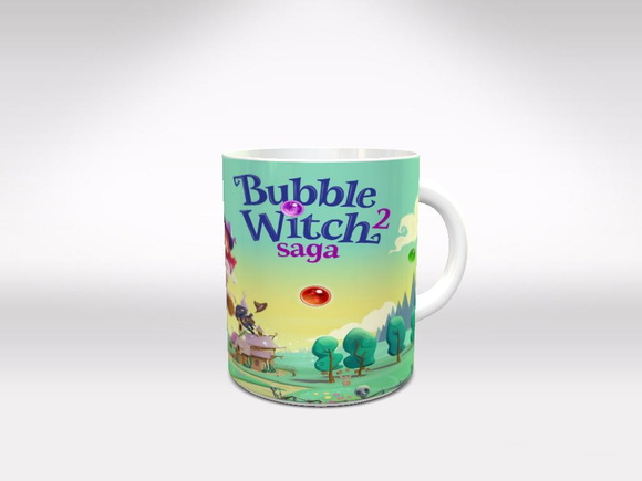 Caneca Bubble Witch