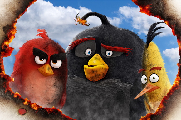 Painel Festa Angry Birds (AGR04)