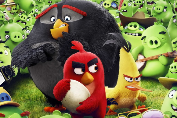 Painel Festa Angry Birds (AGR07)