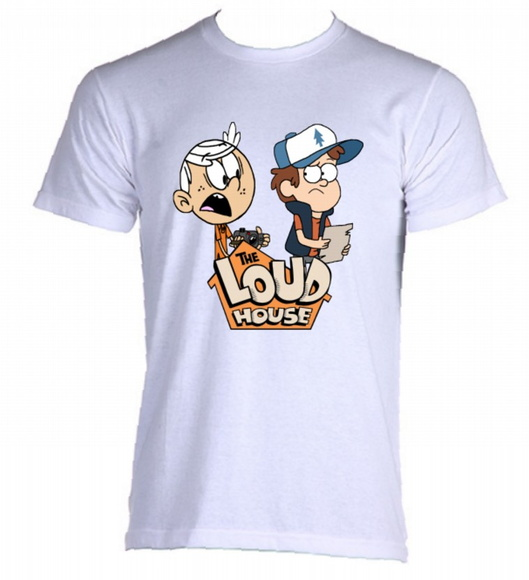 Camiseta Allsgeek The Loud House 01
