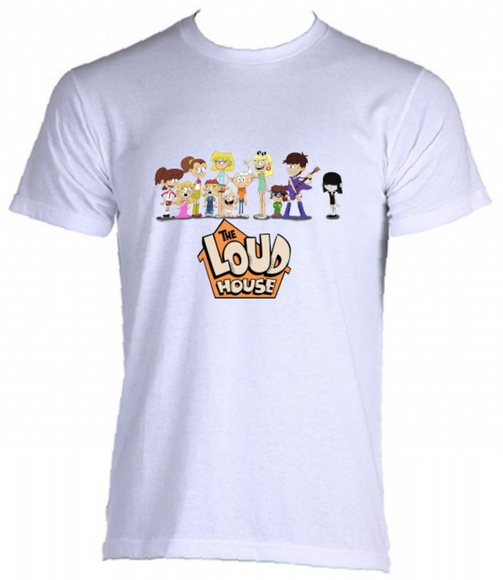 Camiseta Allsgeek The Loud House 04