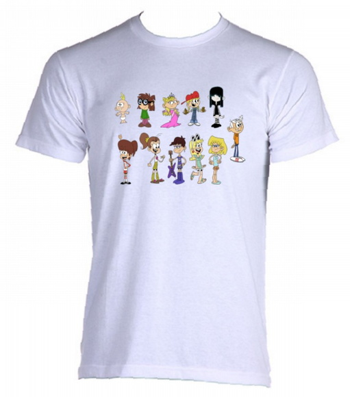 Camiseta Allsgeek The Loud House 05