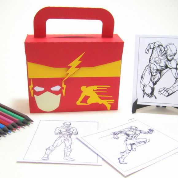 Lembrancinha The Flash kit Pintura