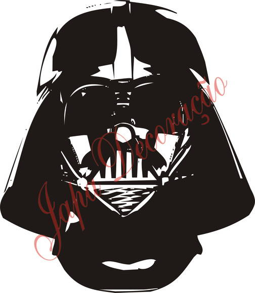 ADESIVO DARTH VADER DO STAR WAR