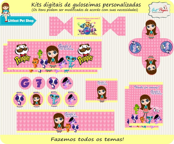 Kit digital Littlest PetShop