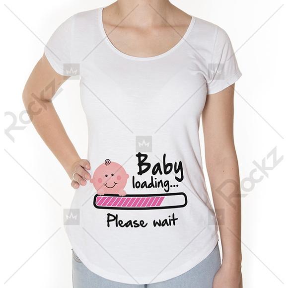 Camisetas Para Chegada Do Bebe Elo7