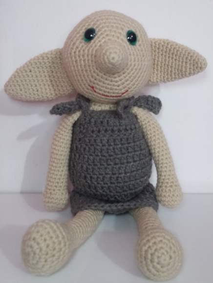 Dobby Harry Potter Amigurumi : Dobby Harry Potter Elo7