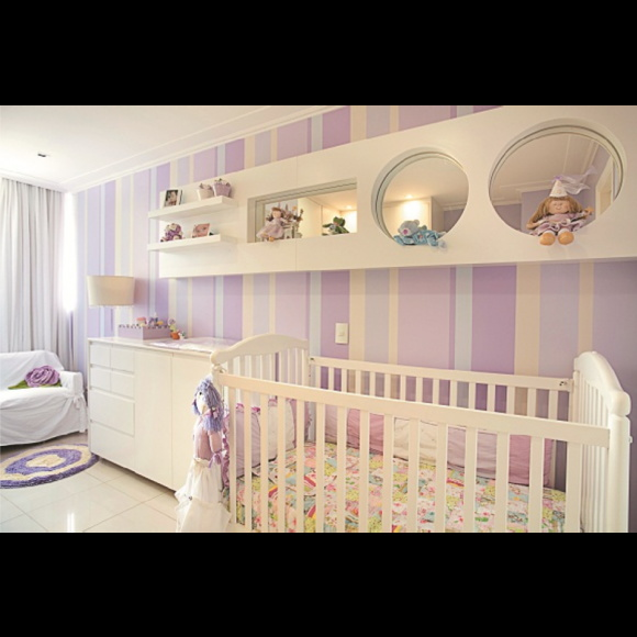 Papel de parede quarto bebe elo7 - Papel pared bebe ...