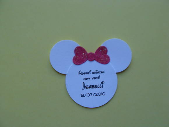 TAG PERSONALIZADO MICKEY E MINNIE