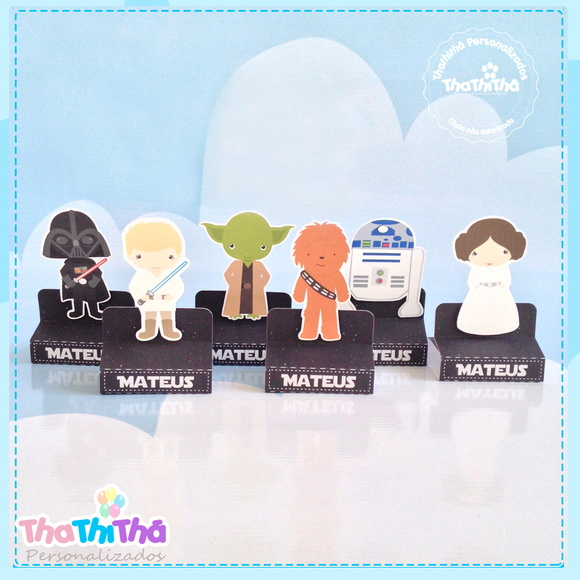 Porta Chocolate Duplo- Star Wars