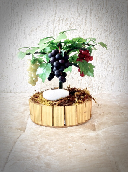 Bonsai de Frutas - Parreira (artificial)
