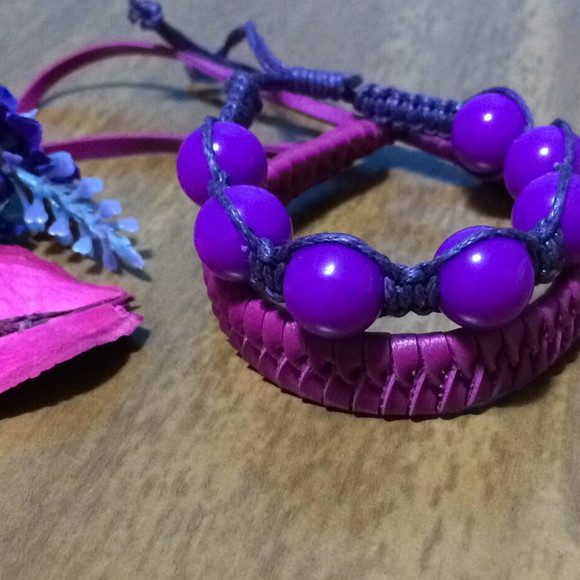 DUO BRACELETE PURPLE