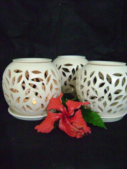 Difusor de aroma de vela lumin rias decorativas by lydia janaudis elo7 - Aromas para velas ...