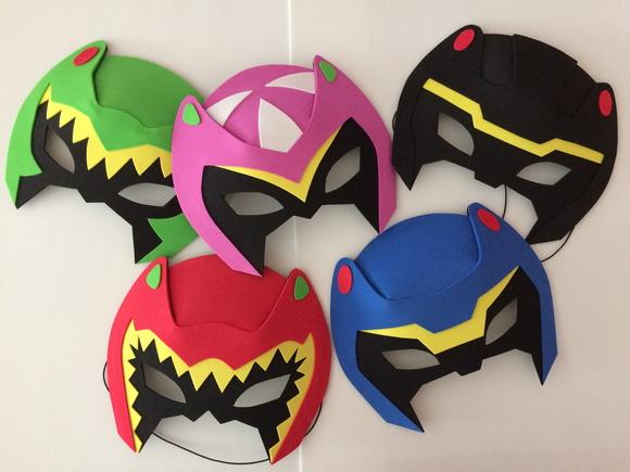 Mascaras power rangers dino charge no elo7 evart e - Masque de power rangers ...