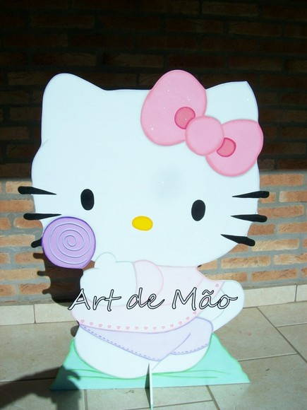 Hello Kitty - mdf.