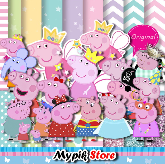 Super Kit Digital Peppa Pig Completo 58