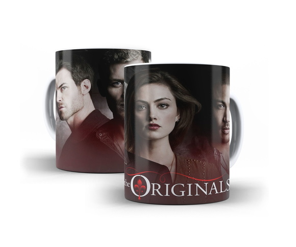 Caneca Seriado The Originals Mod.02 + Brinde