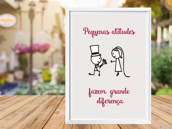 Quadro Amor Pedido De Casamento Frases