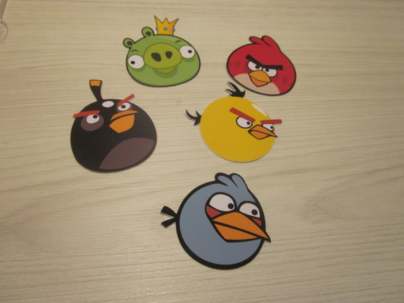 Personagem Angry Birds: Recorte Personagem Angry Birds No Elo7