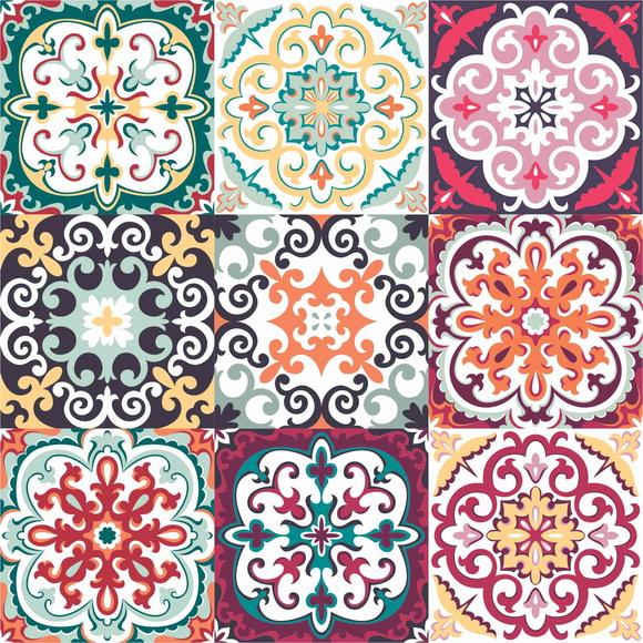 Adesivo decorativo azulejos elo7 for Azulejos decorativos