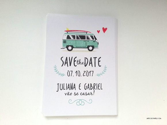 Save the Date Kombi