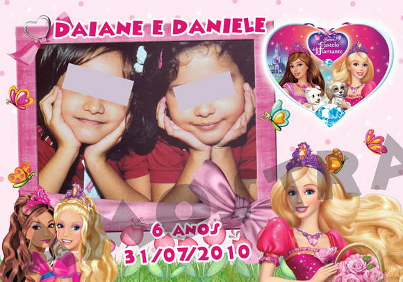 Ímã Barbie Castelo de Diamantes