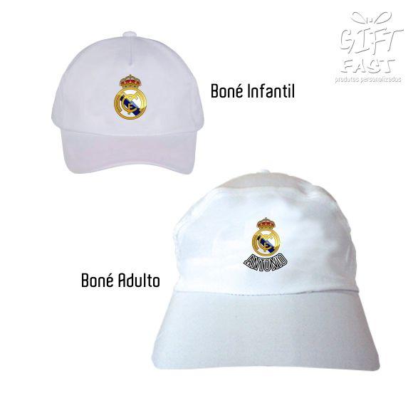 Boné Real Madrid no Elo7  68e24218209