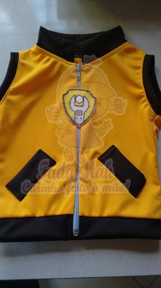 Colete Amarelo Rubble  45ac0608fe2ce