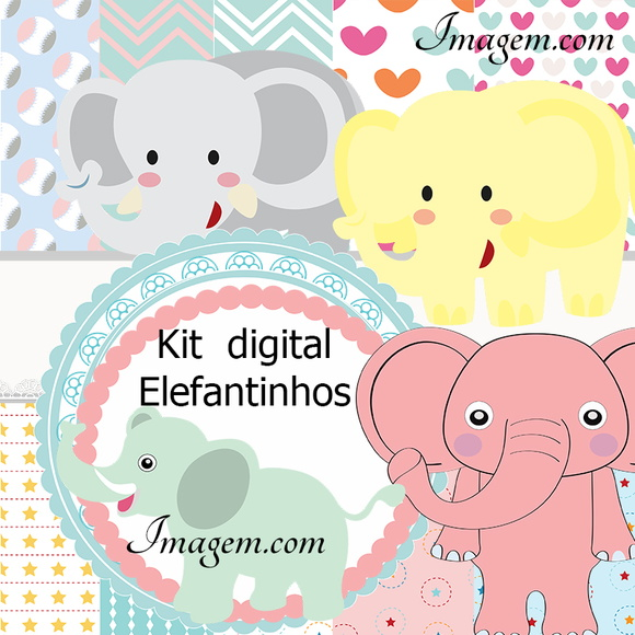 Kit Digital elefantinho