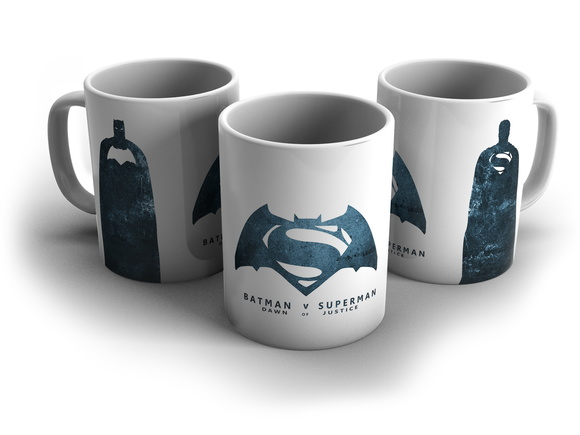 Caneca Batman VS Superman