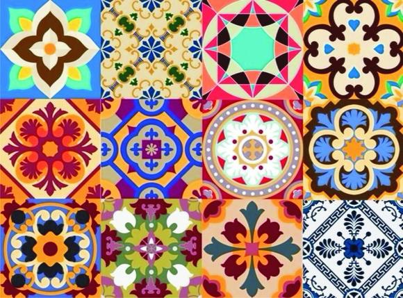 Adesivo decorado elo7 for Azulejos decorados
