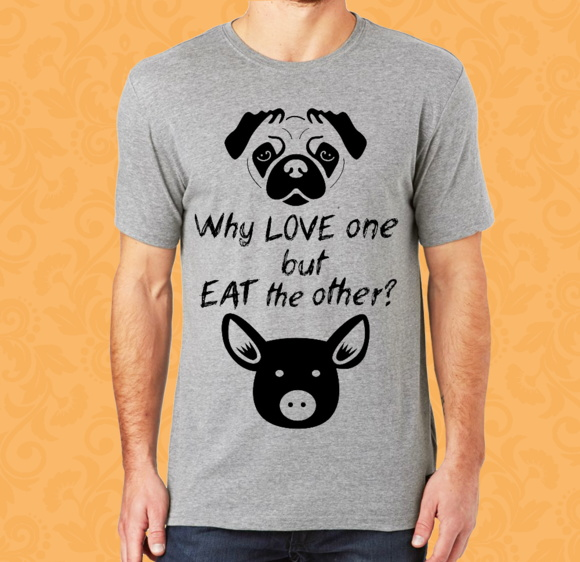 Camiseta - Vegan - Why Love One... M/F