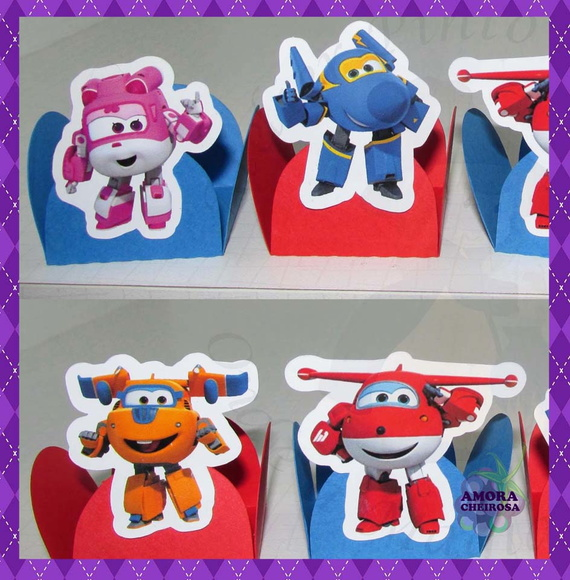 12 Forminha Doce Super Wings