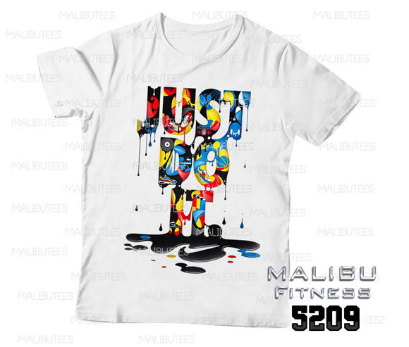 camiseta masculina gym just do it 5209