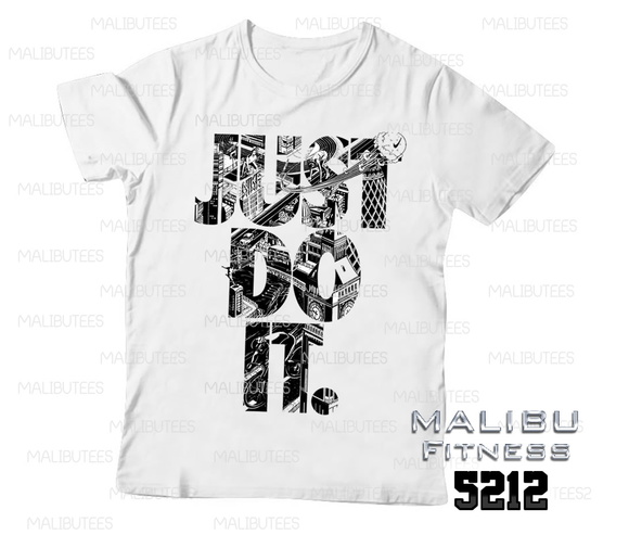 camiseta masculina gym just do it 5212