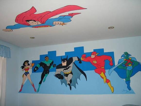 Pintura quarto infantil aline dreams elo7 - Pintura infantil pared ...