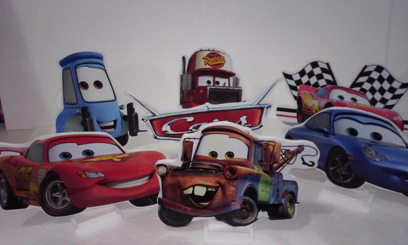Kit de mesa Carros Disney