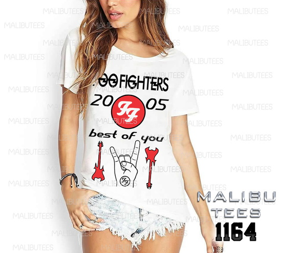 T-shirt foofighters rock pop king