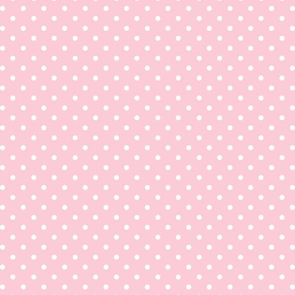 Papel de parede bolinhas po rosa bebe no elo7 for Papel de pared paisajes
