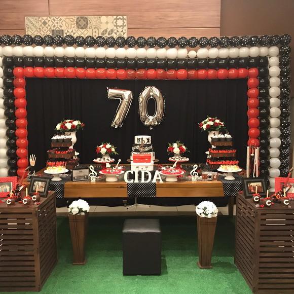 Festa anos 70 elo7 for Diseno de interiores anos 70