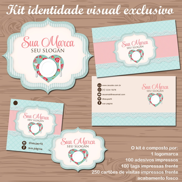 Kit Identidade Visual MESA POSTA