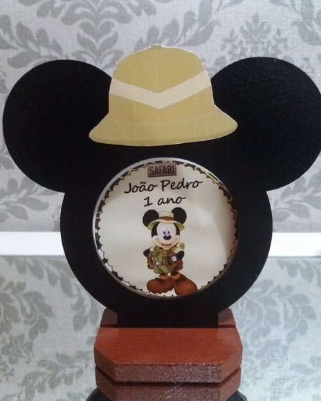 PORTA RETRATO MICKEY OU MICKEY SAFARI