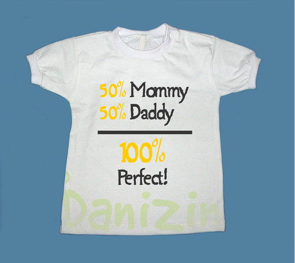 T-Shirt Bebê e Infantil 100% PERFECT