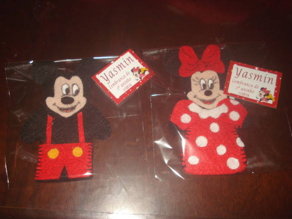 Dedoche mickey e minnie