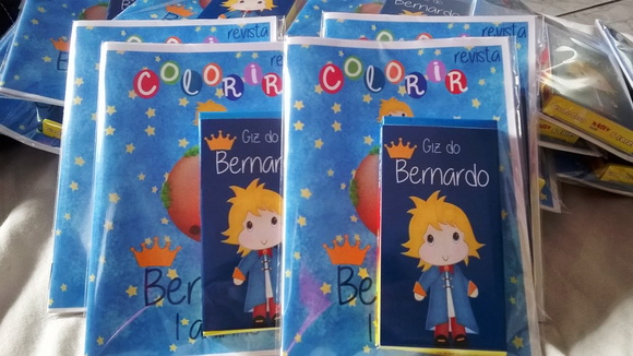 kit colorir pequeno principe