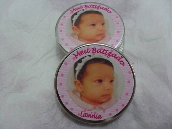 Latinha mint to be personalizada!