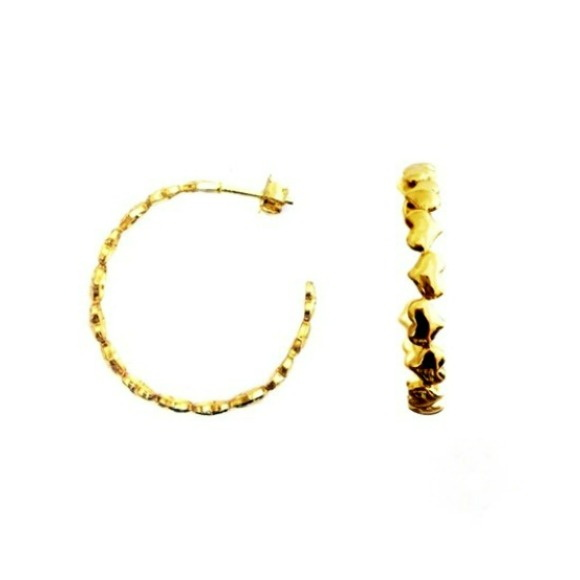 Argola Banhada Ouro Pequena   Elo7 ec093105f2